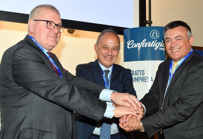 Graziano Tilatti, Cesare Fumagalli e Dario Bruni